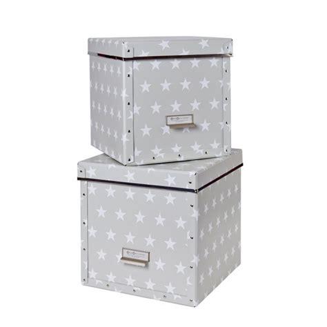 Schone Aufbewahrungsboxen by Store T Aufbewahrungsbox Cube Sternenbox 2er Set