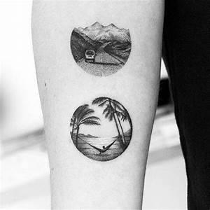 Kleine Männer Tattoos : 40 kleine strand tattoos f r m nner seashore design ideen m nner stil und mode tattoo ~ Frokenaadalensverden.com Haus und Dekorationen