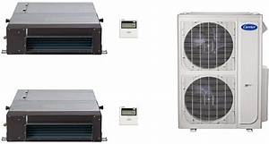Carrier Ca36k288 2 Room Mini Split Air Conditioning System
