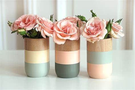 shade on shape vases design sponge