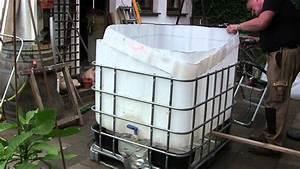 Pool Selber Bauen Paletten : video pool aus ibc tank container selber bauen so einfach geht 39 s badezuber selber bauen ~ Yasmunasinghe.com Haus und Dekorationen