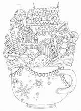 Coloring Coloriage Ausmalbilder Violeta Weihnachten Colorear Navidad Pintar Mandalas Mandala Malvorlagen Colores Dessin Kiki Adult Ausmalen Printables Zum Sheets Dibujos sketch template