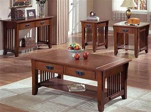 bloombety best furniture mission style coffee table set With mission coffee table set
