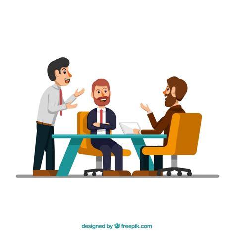 12667 business lunch meeting clipart escena de reuni 243 n con hombres de negocios descargar