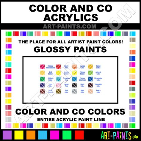 primary magenta glossy acrylic paints 2963 primary