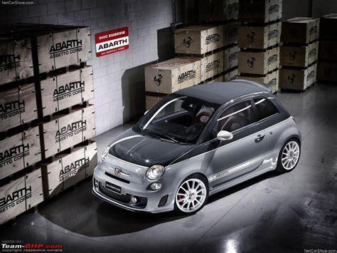 Fiat 500 Us Spec 500c Abarth Ss And Punto Evo Abarth Ss