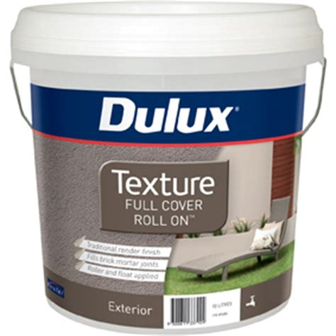 Dulux 10l Texture Full Cover Exterior Paint Bunnings