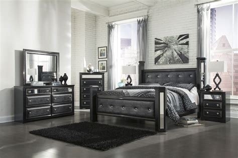 Bedroom Rental Sets by Alamadyre Upholstered Poster Bedroom Set In