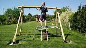 Kinderschaukel Holz Selber Bauen : angeschaukelt schaukel aus robinie miy man in yellow ~ Markanthonyermac.com Haus und Dekorationen