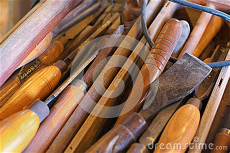 color image  boat builders toolbox royalty  stock