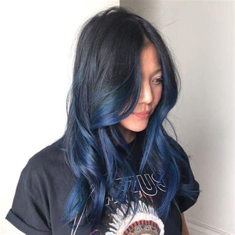 69 Stunning Blue Black Hair Color Ideas