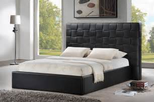 Affordable Kitchen Tables Sets by Prenetta Black Modern Bed With Upholstered Headboard