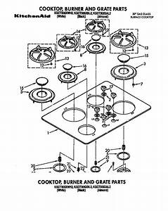 Kitchenaid Gas Cooktop Parts