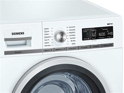 siemens wm 16 w 541 siemens wm16w541 waschmaschine wei 223