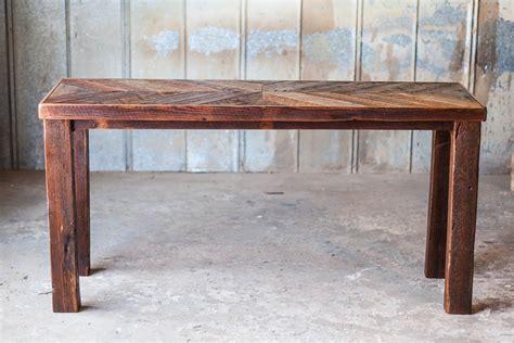 Reclaimed Wood Sofa Table Reclaimed Wood Farm Table