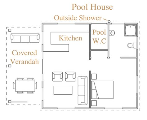 pool house floor plans villa layout luxury island villa bequia