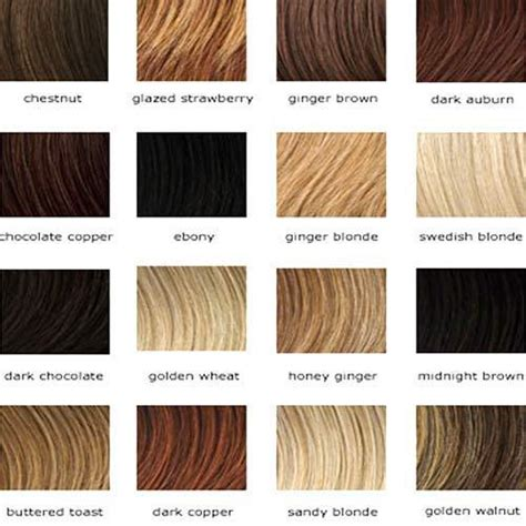 Hair Colors List Pictures by Hair Colors List 10 Reasons Why