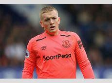 Everton news Jordan Pickford set to make England debut