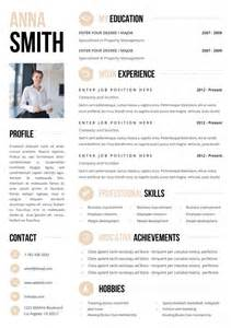 top 10 best looking resumes looking for a you need one of these killer cv templates from etsy career daily
