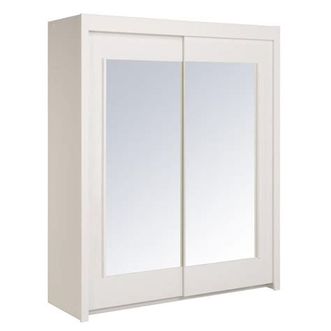 Armoire Blanche Portes Coulissantes by Armoire Blanche Portes Coulissantes Armoire Blanche Port