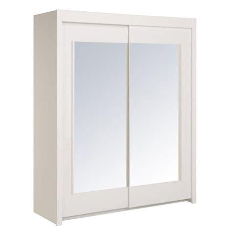 armoire chambre pas cher armoire de chambre blanc pas cher