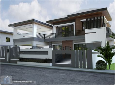 J S Home Design : 2 Storey Residential House Rizal Province By J.j.s