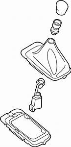 Ford Fiesta Manual Transmission Shift Linkage Boot  Manual