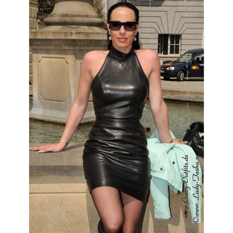 leather dress ds  crazy outfits webshop  leather