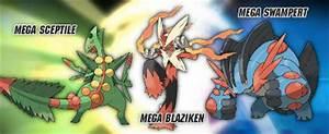Mega Blaziken vs Mega Swampert vs Mega Sceptile en el foro ...