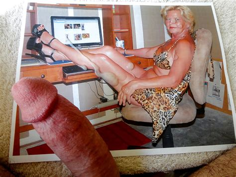 Cum Tribute For Gilf With Sexy Legs Heels And Feet 5
