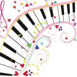 Piano Notes Clip Art