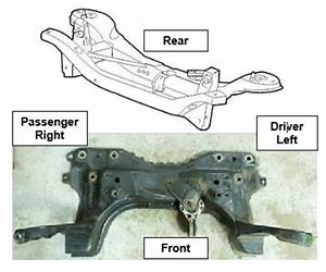 Subframe Crossmember Index-marks