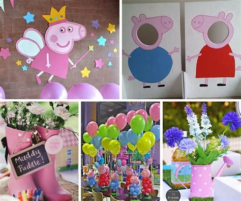 peppa pig ideas at birthday in a box