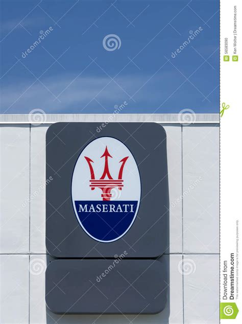 Maserati Sign On Exhibition At The Annual Event Supercar