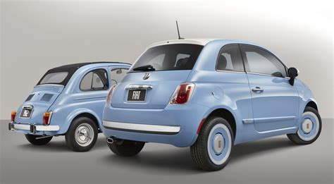 Original Fiat 500 by Retro Styled Fiat 500 1957 Edition Pays Tribute To The