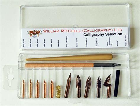 dip  nibs starter sets william mitchell calligraphy
