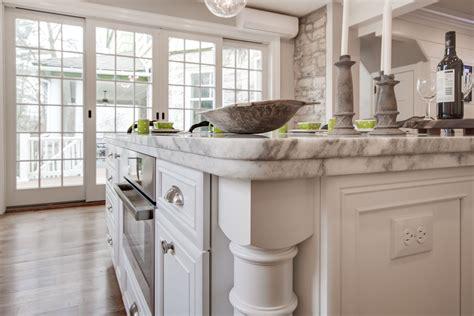 mont blanc honed quartzite countertop  white cabinets