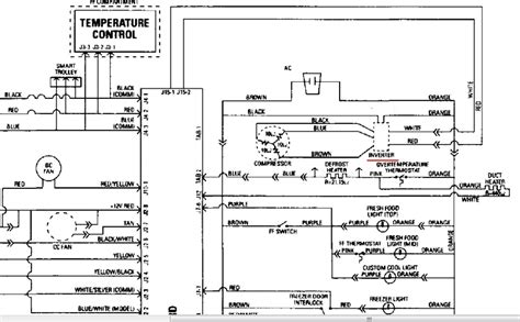 ge refrigerator wiring diagram free wiring diagram