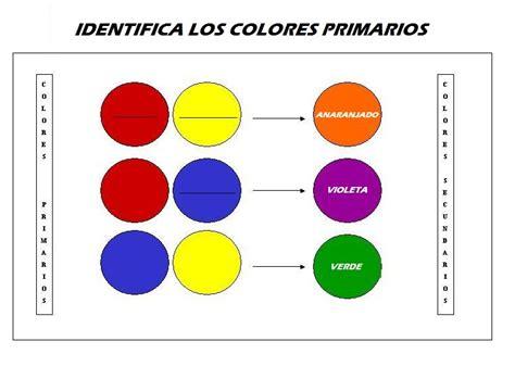 fichas educativas los colores primarios