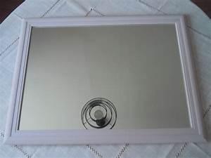Peinture Argentée Spéciale Miroir : relooker un miroir trouver des id es de d coration ~ Dailycaller-alerts.com Idées de Décoration