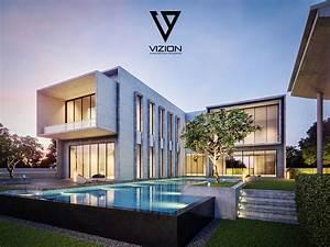 Modern, Casa, On, Behance