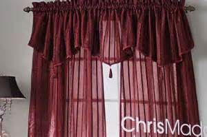 jc penney chris madden curtain set arden chocolate ebay