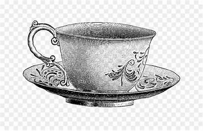 Tea Clip Teapot Teacup Saucer Cup Template