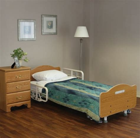 joerns care 100 full electric hospital bed low hospital bed