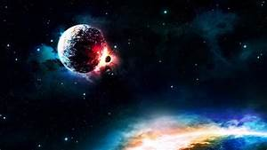 Planets Colliding 2560X1440 (page 3) - Pics about space