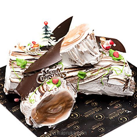 price galadari black forest yule log galadari cake