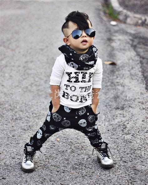 summer style infant clothes sets baby boy cotton