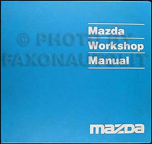 1995 Mazda Mpv Van Service Repair Shop Set Oem Books Factory 95 Service And The Electrical Wiring Diagram