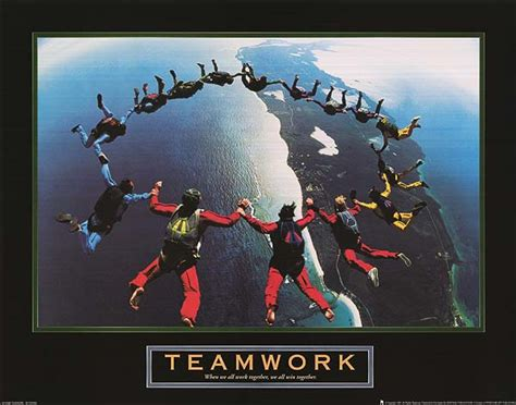 teamwork  posters   poster warehouse