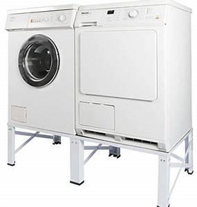 Erhöhung Für Waschmaschine : doppel untergestell f r waschmaschine und trockner sockel podest unterbau erh hung 005160 notsira ~ Yasmunasinghe.com Haus und Dekorationen